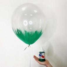 Краска для БРАШ зеленая 250мл
