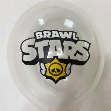 """12"""" (30см)  Brawl Stars прозорий 1 куля"""